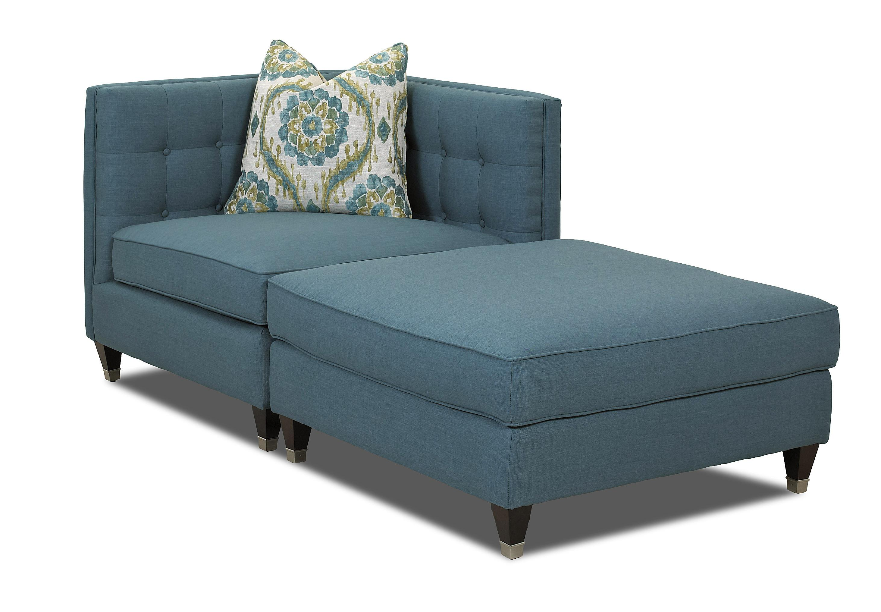 Klaussner Celeste Two Piece Sectional Sofa - Item Number: D73800 CORN+OTTO