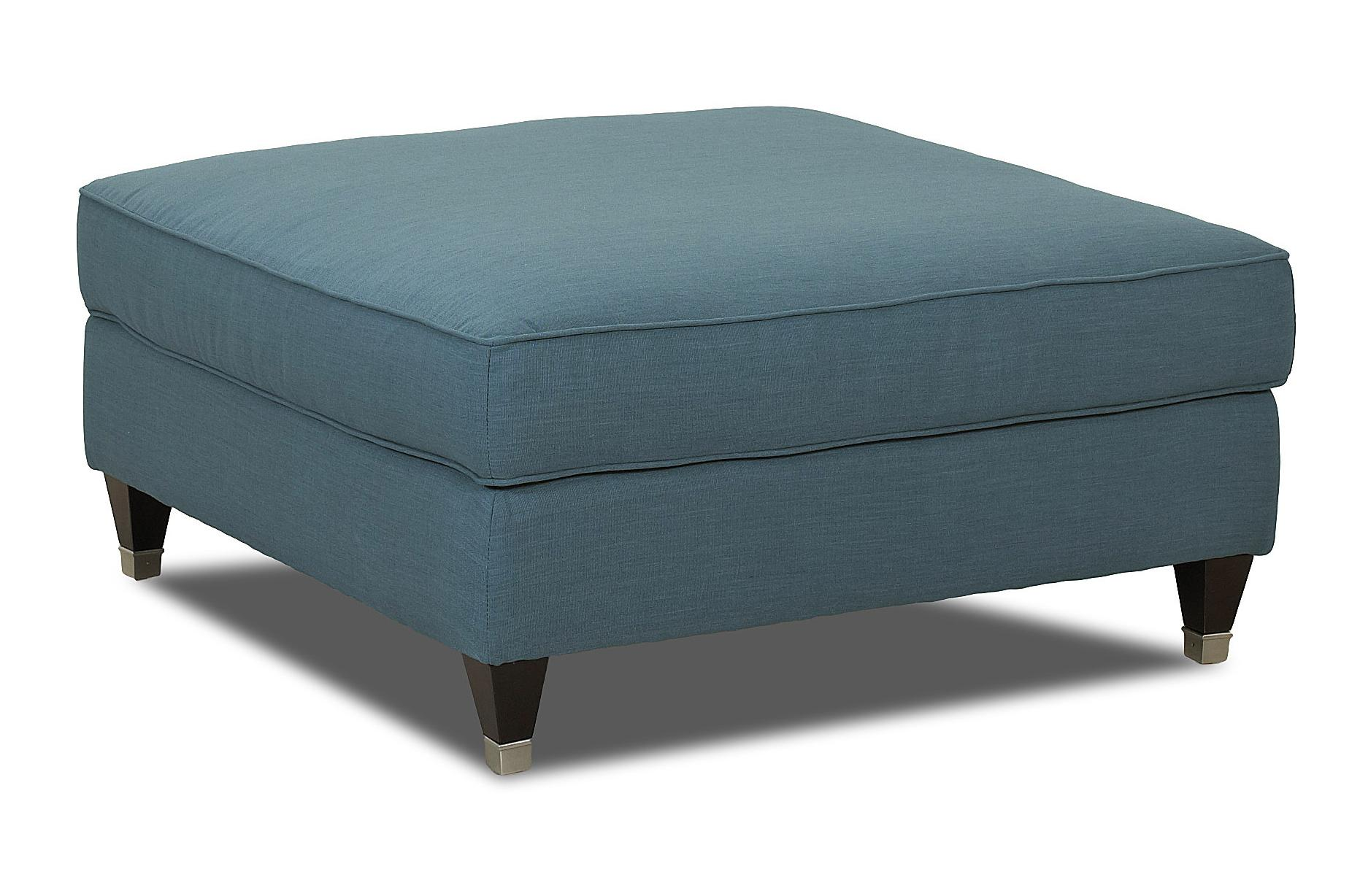 Klaussner Celeste Contemporary Ottoman - Item Number: D73800 OTTO