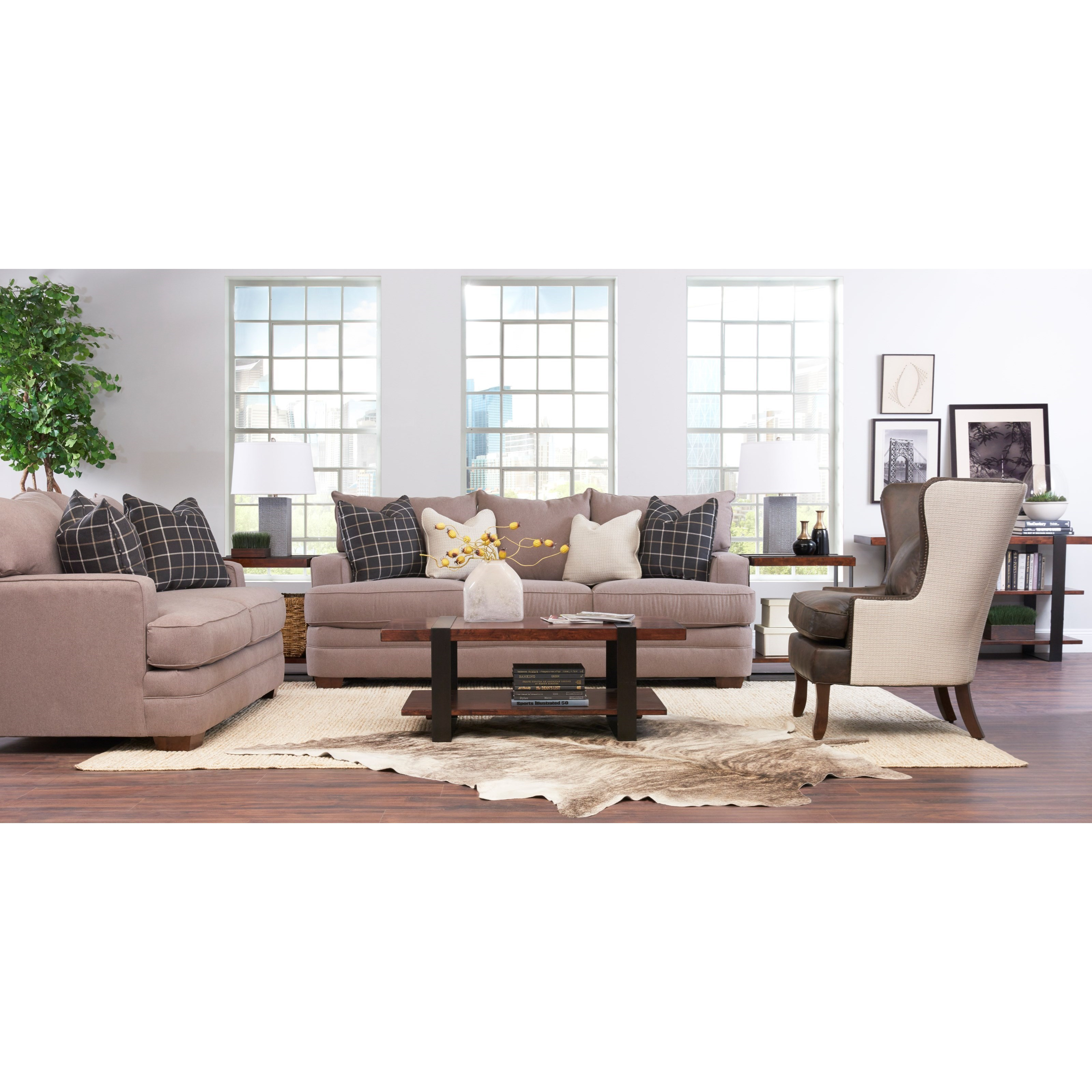 Chadwick Living Room Group by Klaussner at Suburban Furniture