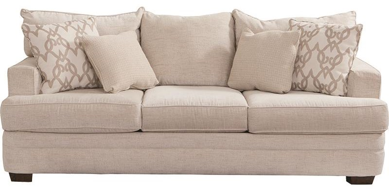 "Chadwick 91"" Sofa by Klaussner at Darvin Furniture"