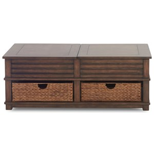 Klaussner International Chambers Cocktail Table