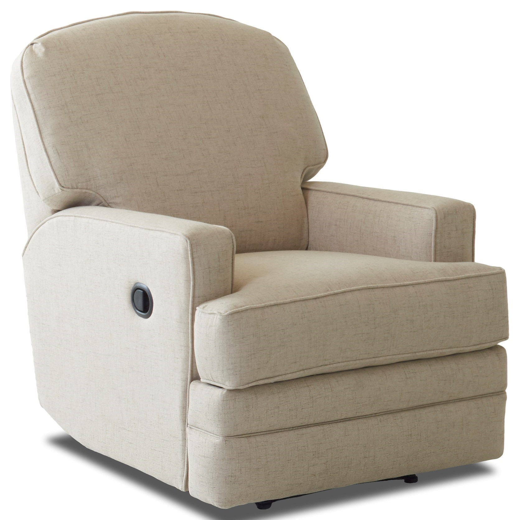 Klaussner Chapman Casual Gliding Reclining Rocking Chair