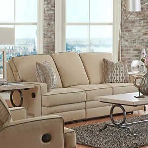 Klaussner Chapman Casual Power Reclining Sofa