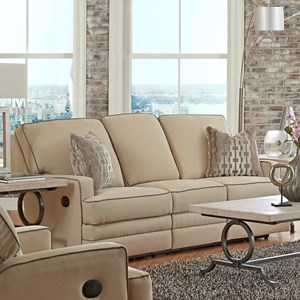 Klaussner Chapman Casual Reclining Sofa