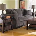 Klaussner Charleston Sofa with Scatterback Pillows and Rolled Arms - D80100S