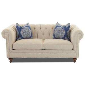 Klaussner Charlotte Studio Sofa