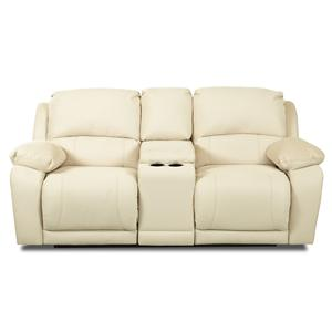 Elliston Place Charmed Console Reclining Loveseat