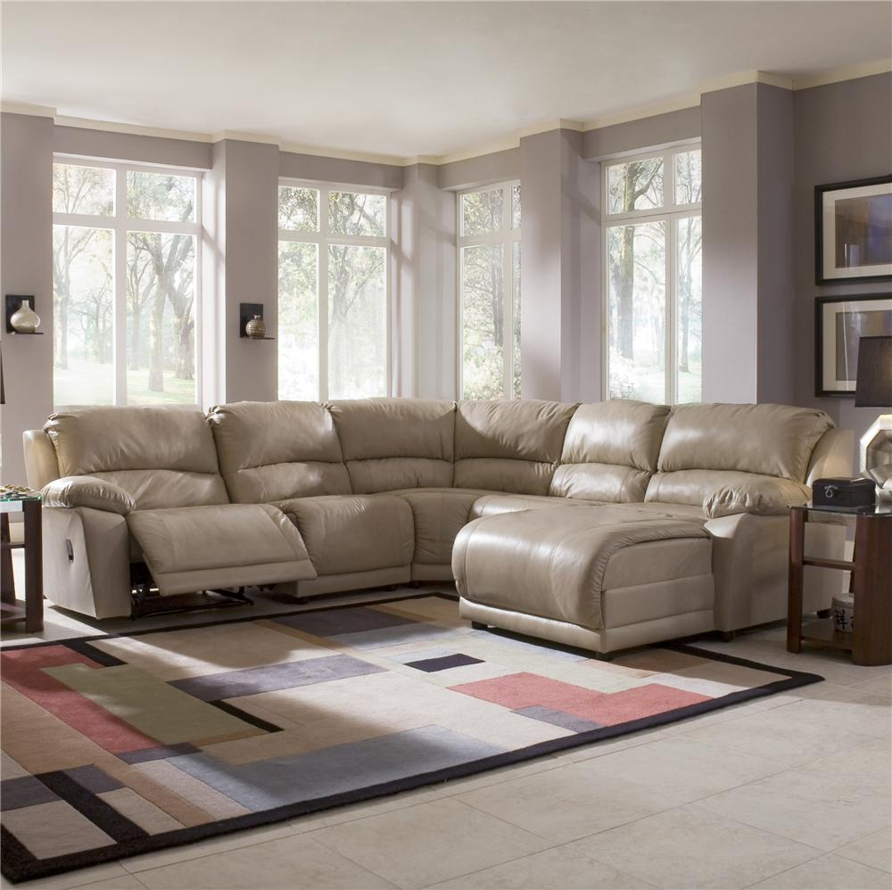 Klaussner Leather Sofa Review: Klaussner Charmed Five Piece Sectional Sofa With Chaise
