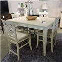 Belfort Basics Clearance Counter Table & 3 Chairs - Item Number: 163093271