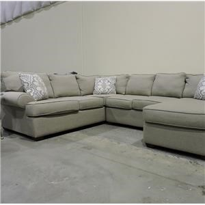 Belfort Basics Clearance 3 Piece Sectional