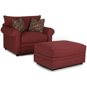 Elliston Place Comfy Chair and Ottoman