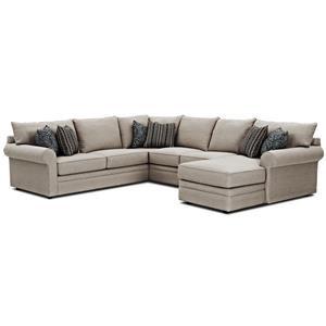 Sectional Sofa w/ RAF Chaise