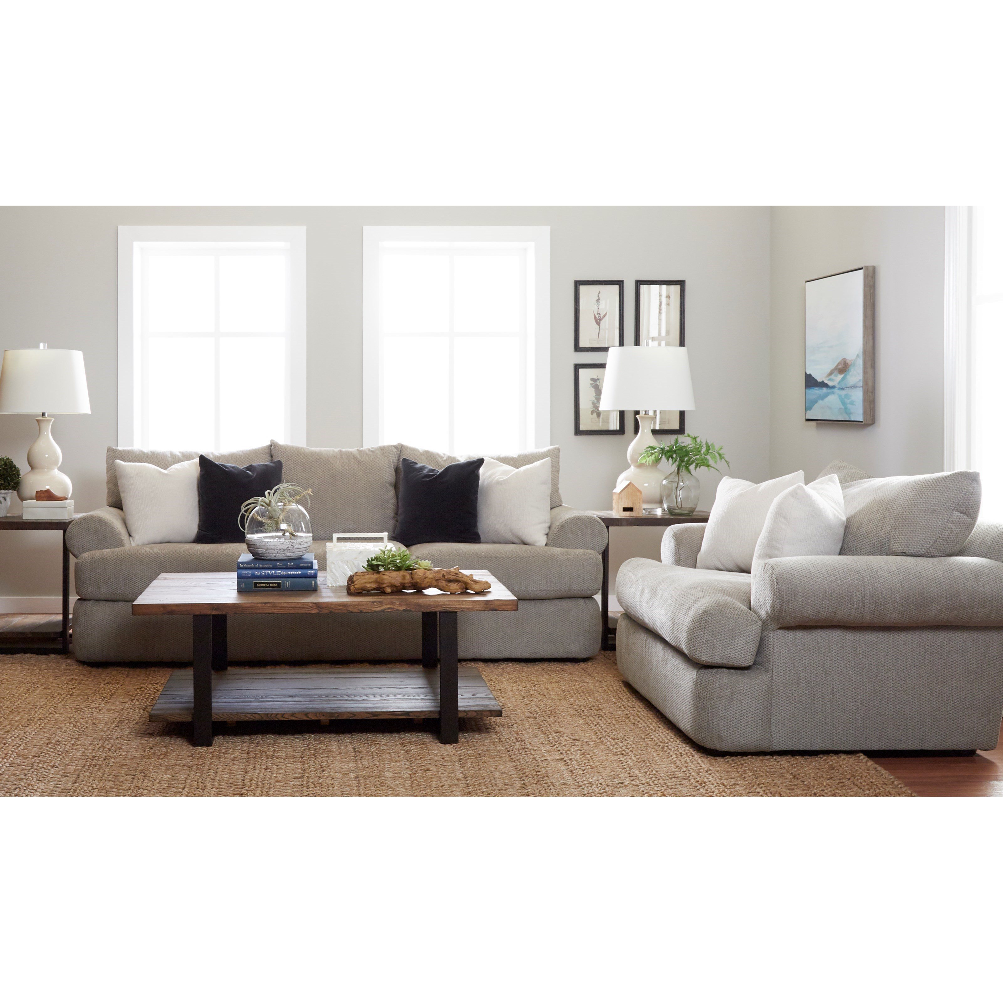 Cora Living Room Group by Klaussner at Johnny Janosik