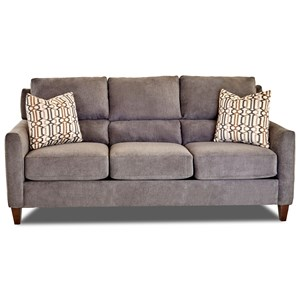 Klaussner Cortland Sofa w/ Pillows