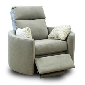 Metropia Cagney Reclining Swivel Chair