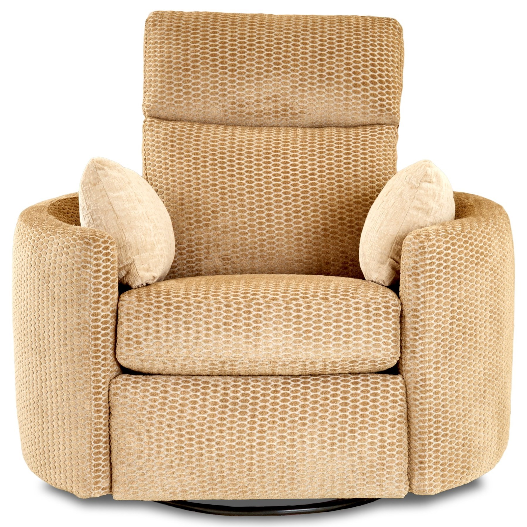 Power Reclining Swivel Chair