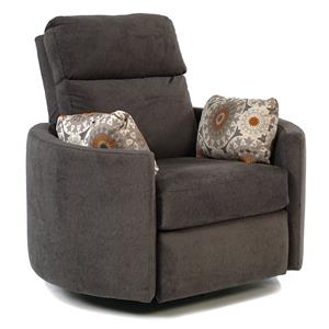 Simple Elegance Suri Power Reclining Swivel Chair