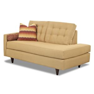 Klaussner Craven Contemporary LAF Chaise Lounge  sc 1 st  Furniture Options : chaise translate - Sectionals, Sofas & Couches