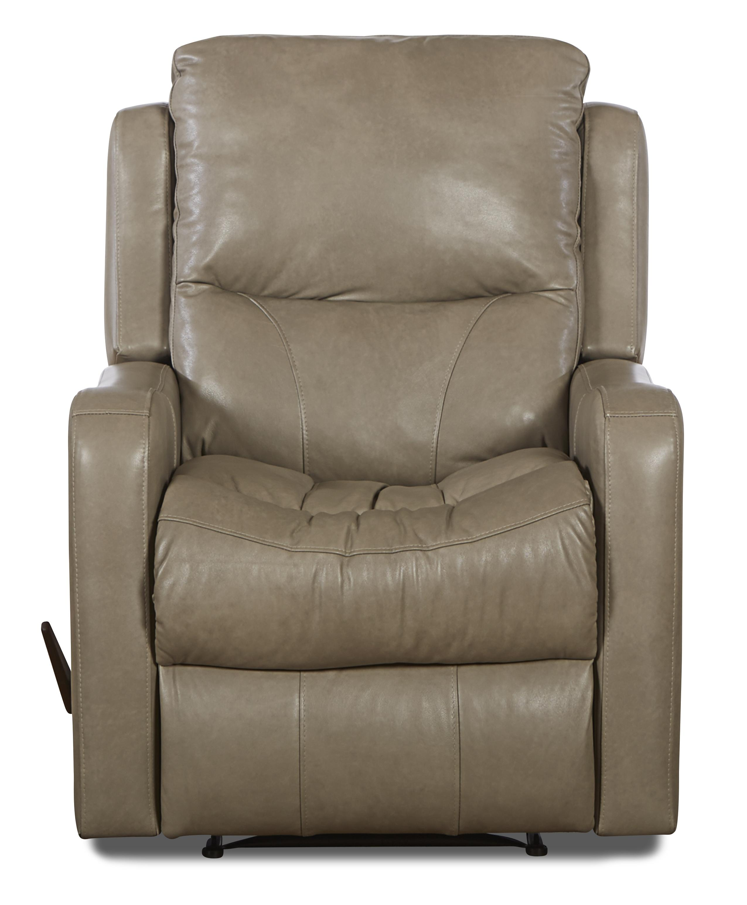 Klaussner Cruiser Transitional Power Reclining Chair - Item Number: LV82903 PWRC-SteamboatPutty