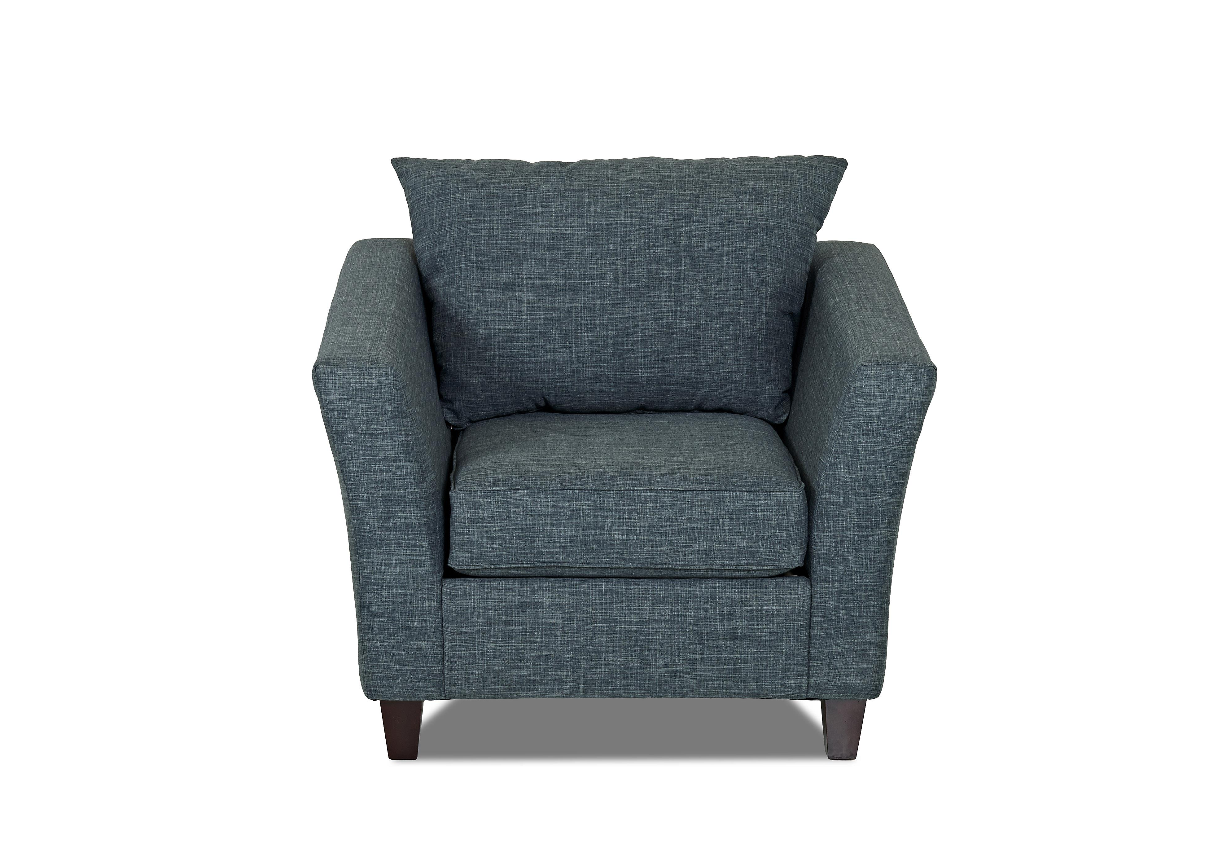 Klaussner Culpepper Chair - Item Number: K40000 C-Fand-Turq