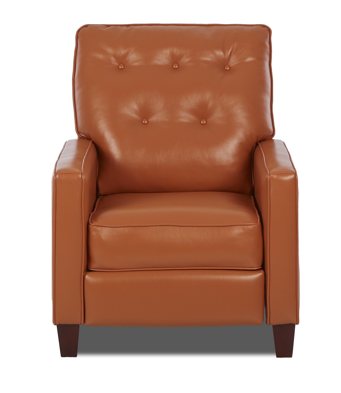 Klaussner Cutlass Traditional High Leg Reclining Chair - Item Number: 80808 HLRC-JupiterSherbert