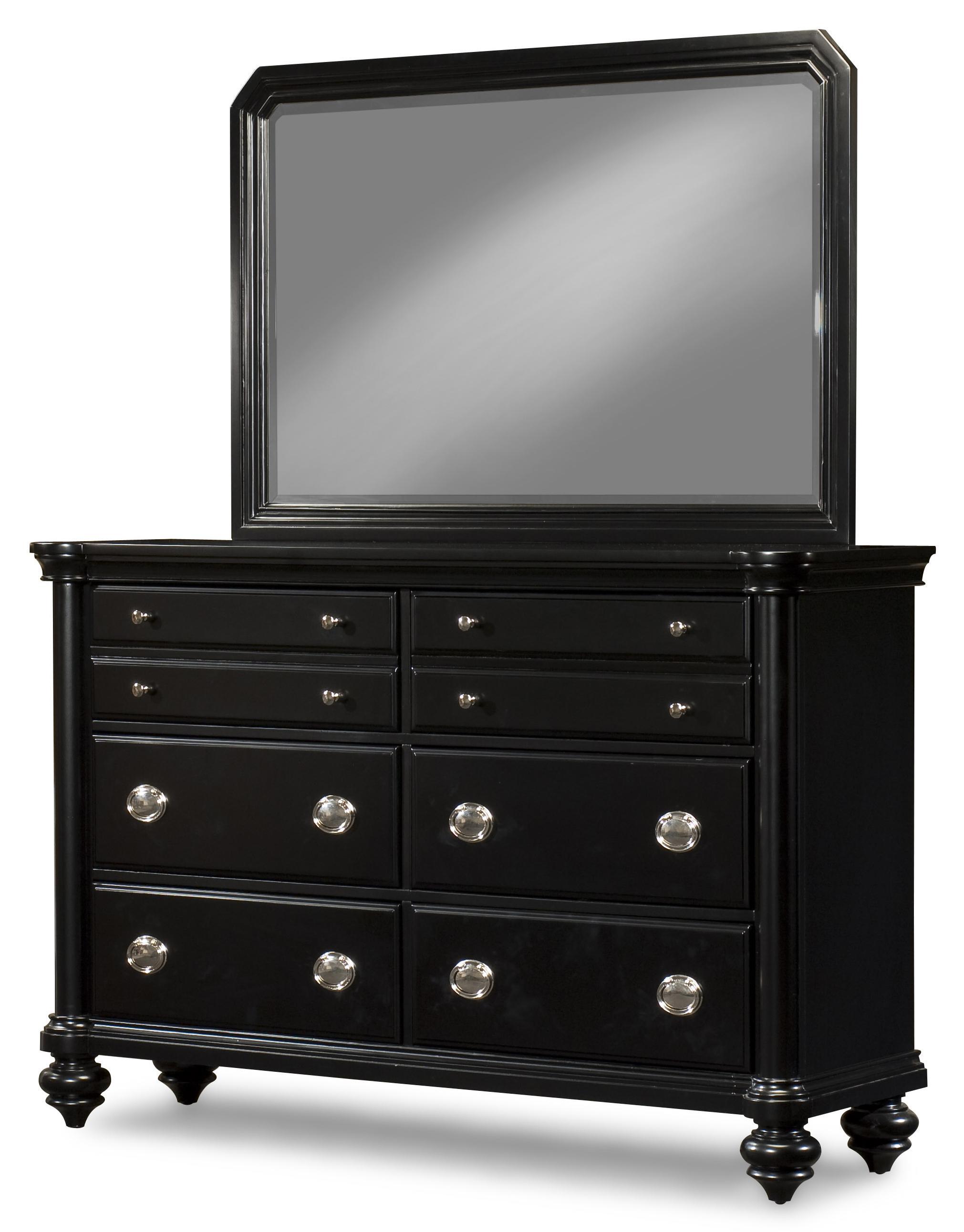 Morris Home Furnishings Darlington Dresser and Mirror - Item Number: 652-650+660