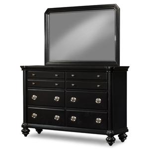 Morris Home Furnishings Darlington Dresser and Mirror