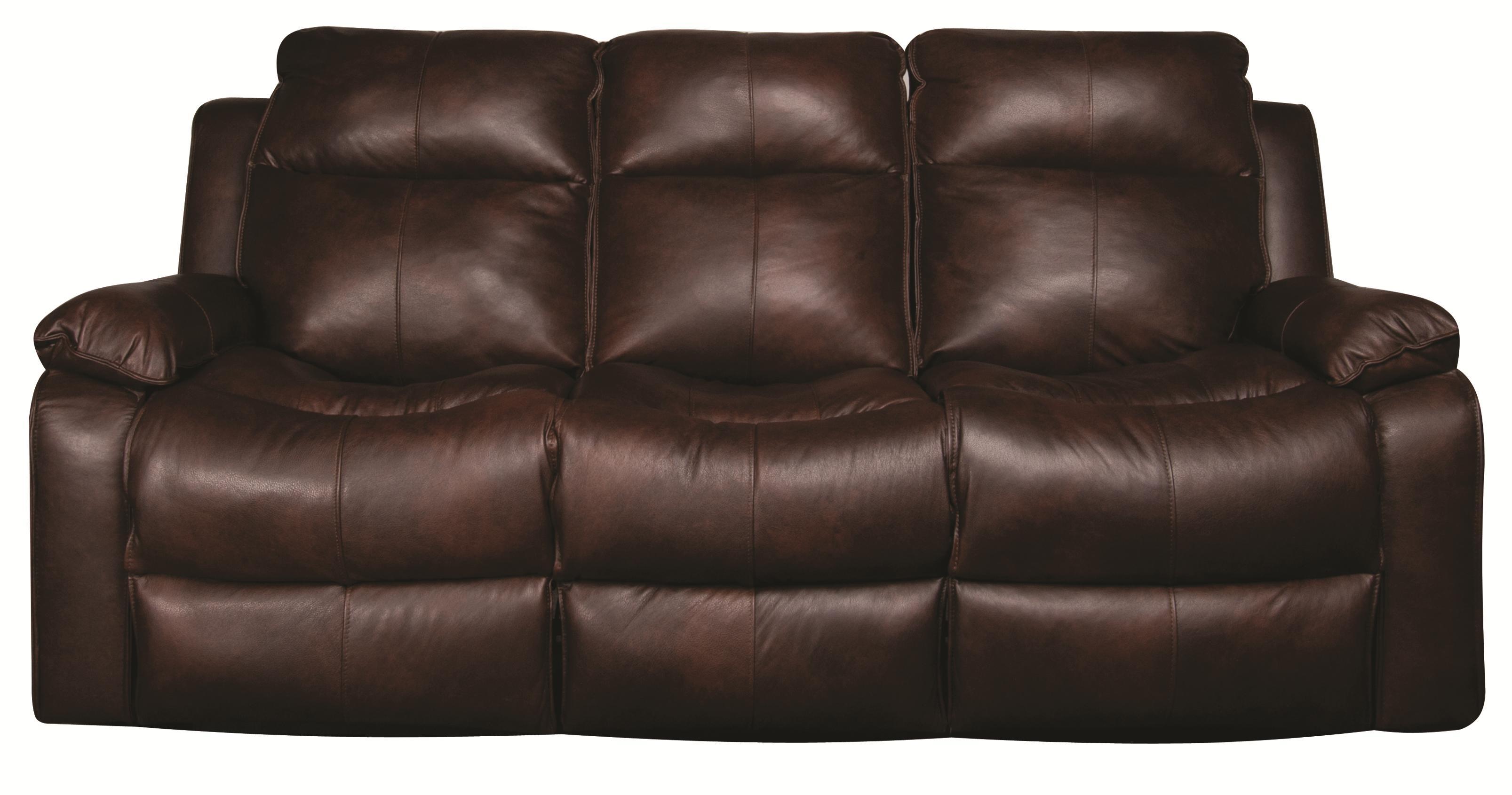 Elliston Place Darius Darius Leather-Match* Power Reclining Sofa - Item Number: 103852550