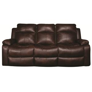 Elliston Place Darius Darius Leather-Match* Power Reclining Sofa