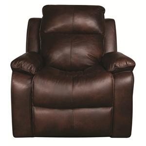 Elliston Place Darius Darius Leather-Match* Power Recliner