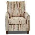 Klaussner Daytona Power Motion High Leg Recliner - Item Number: 82608 PHLRC-FAMOUS COCONUT