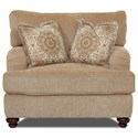 Klaussner Declan  Chair and a half - Item Number: OK42200F BC Frenzy Cashmere