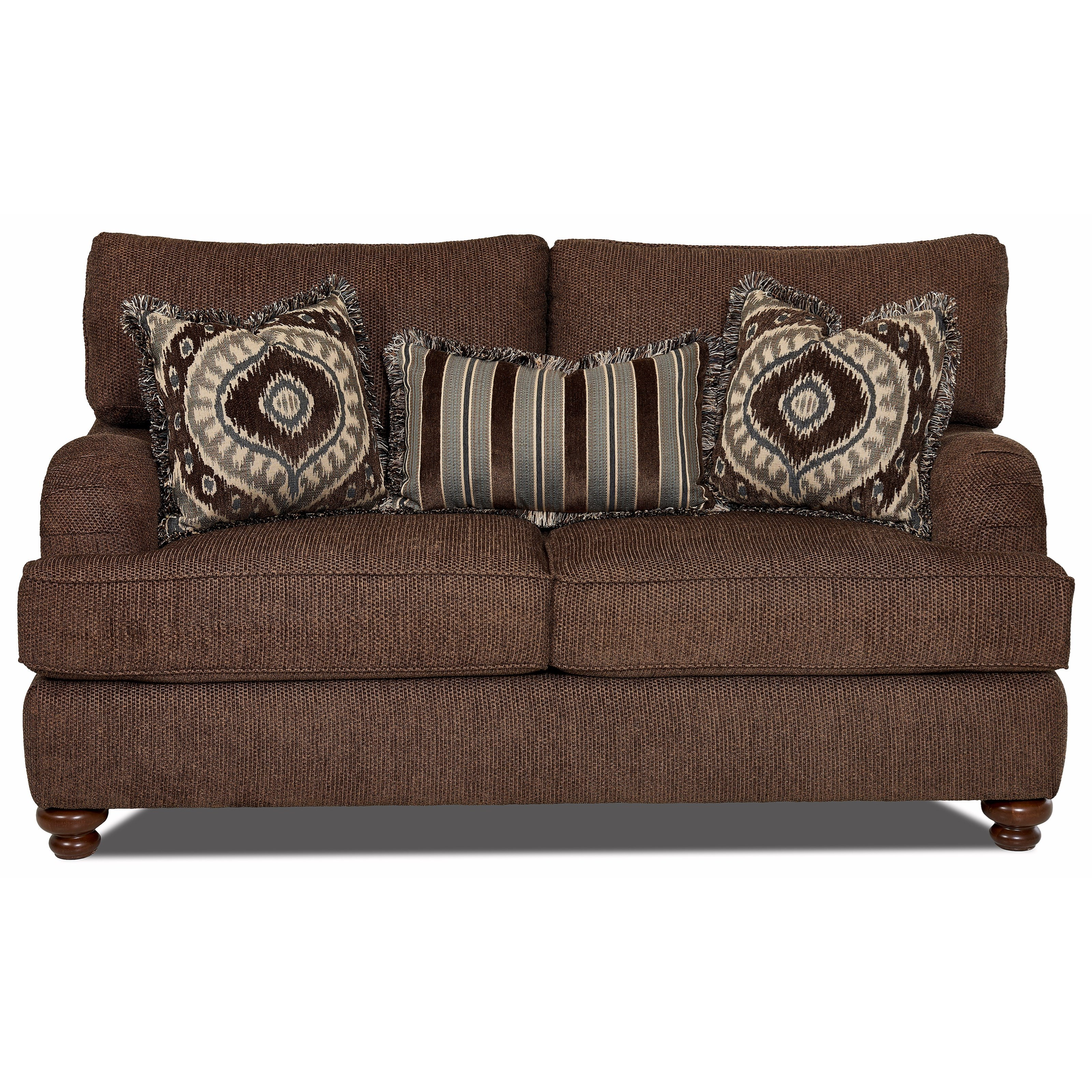 Declan  Loveseat by Klaussner at Johnny Janosik