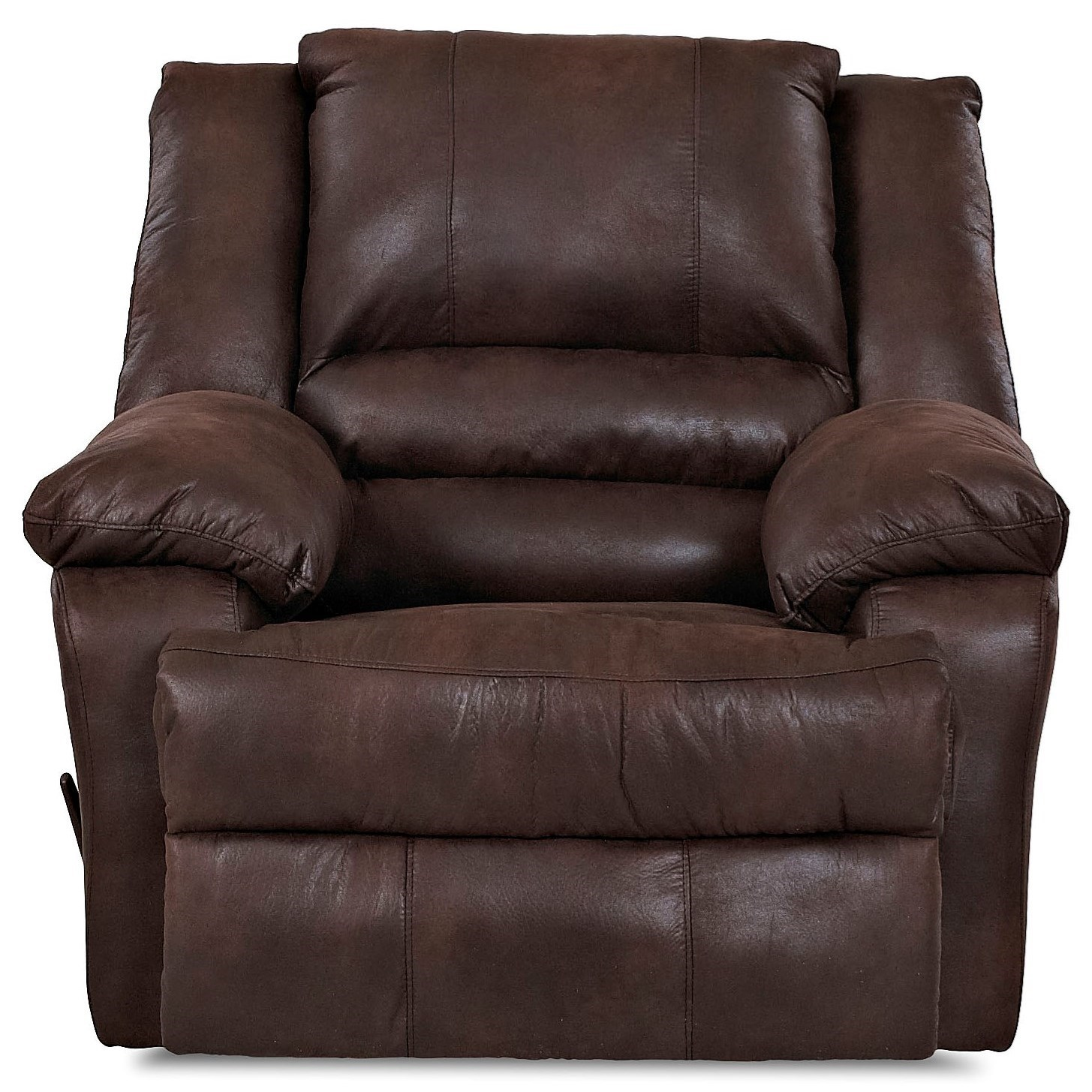 Klaussner Defender Casual Power Reclining Chair - Item Number: 83203 PWRC-Padre Espresso