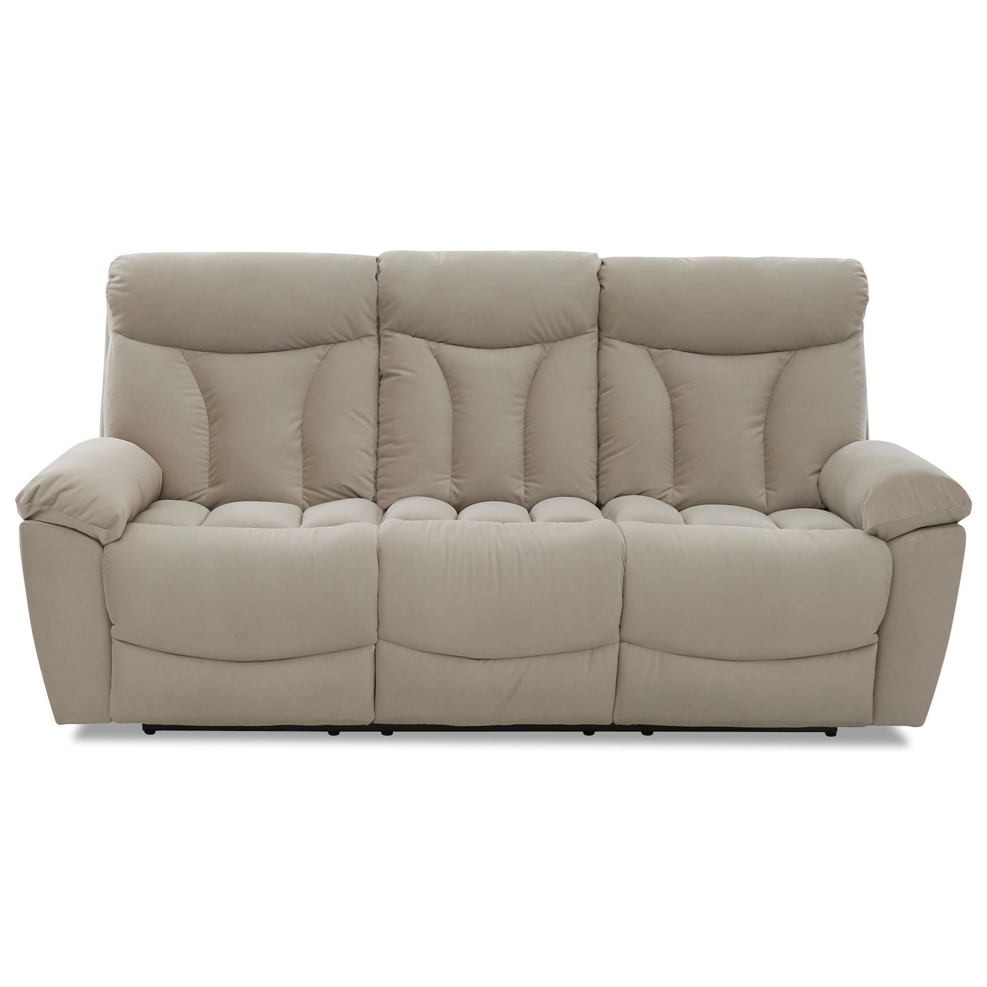 Deluxe Reclining Sofa by Klaussner at Johnny Janosik