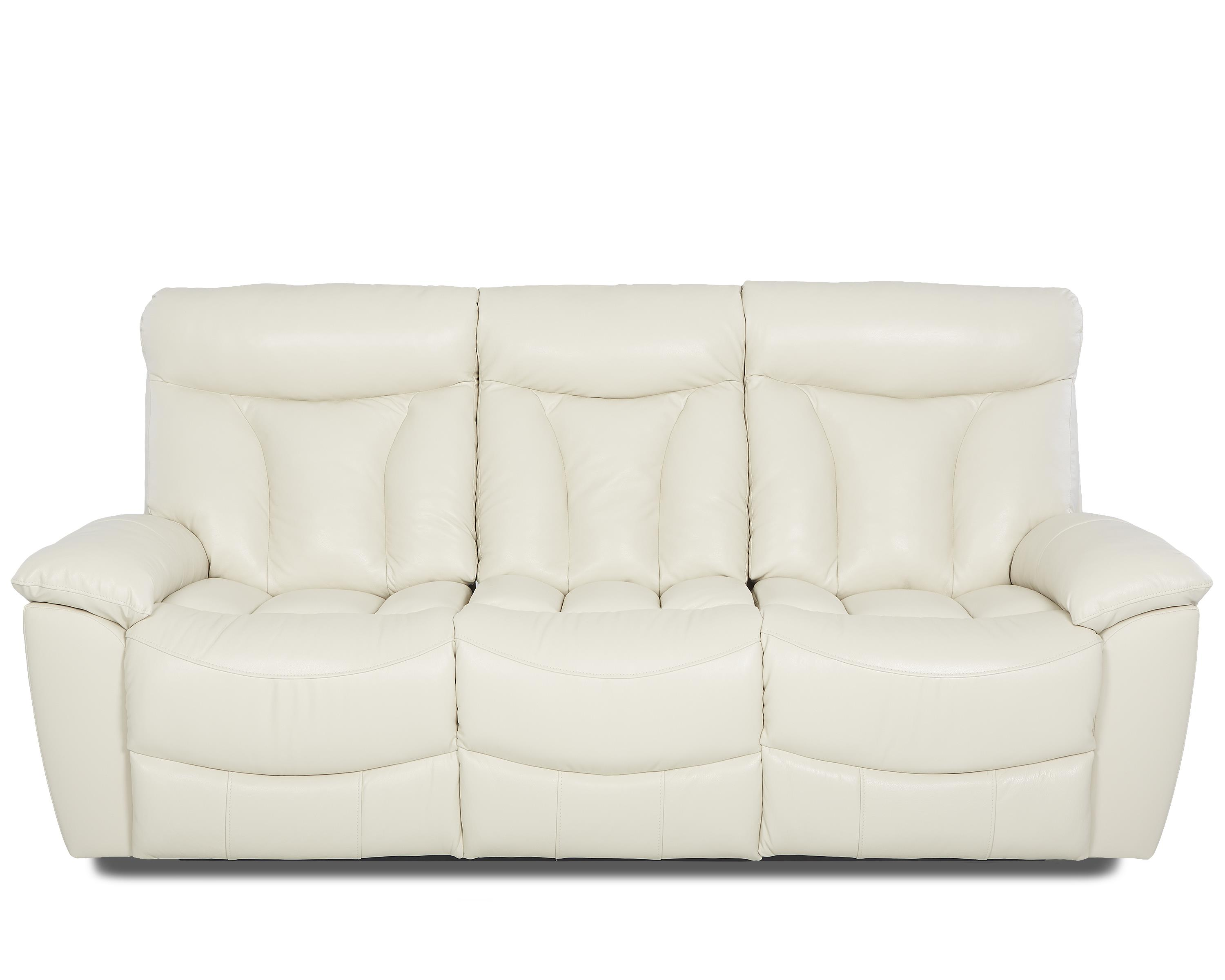 Klaussner Deluxe Reclining Sofa - Item Number: LV63703 PWRS