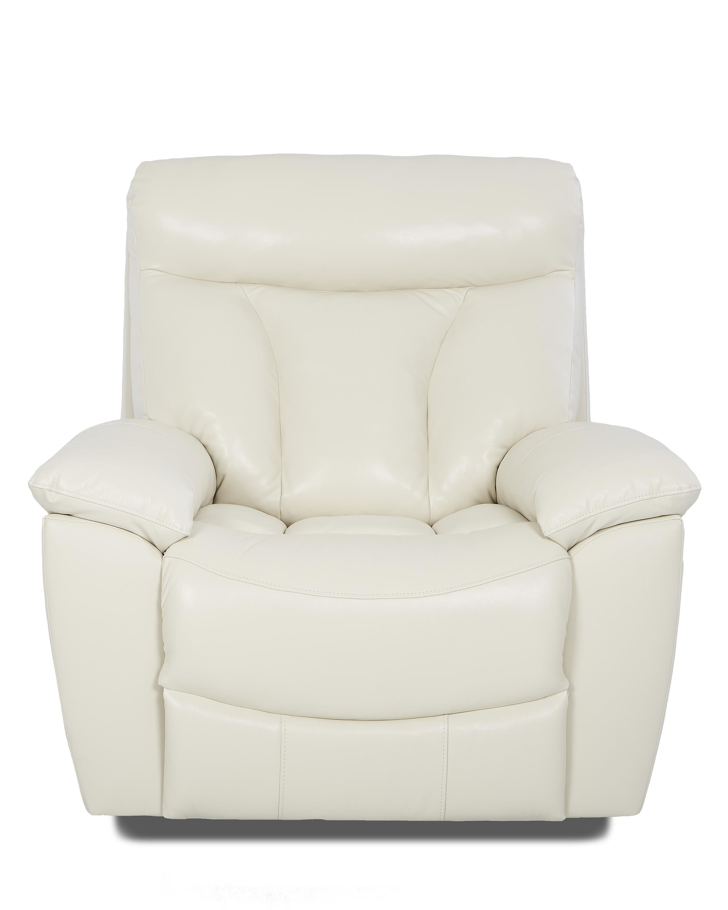 Klaussner Deluxe Reclining Chair - Item Number: LV63703 SRRC