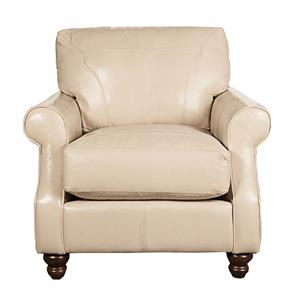 Elliston Place Dixie Dixie 100% Leather Chair