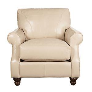 Elliston Place Dixie Dixie 100% Leather Chair