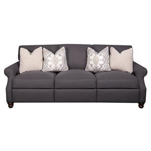 Elliston Place Dixie Dixie Power Hybrid Reclining Sofa