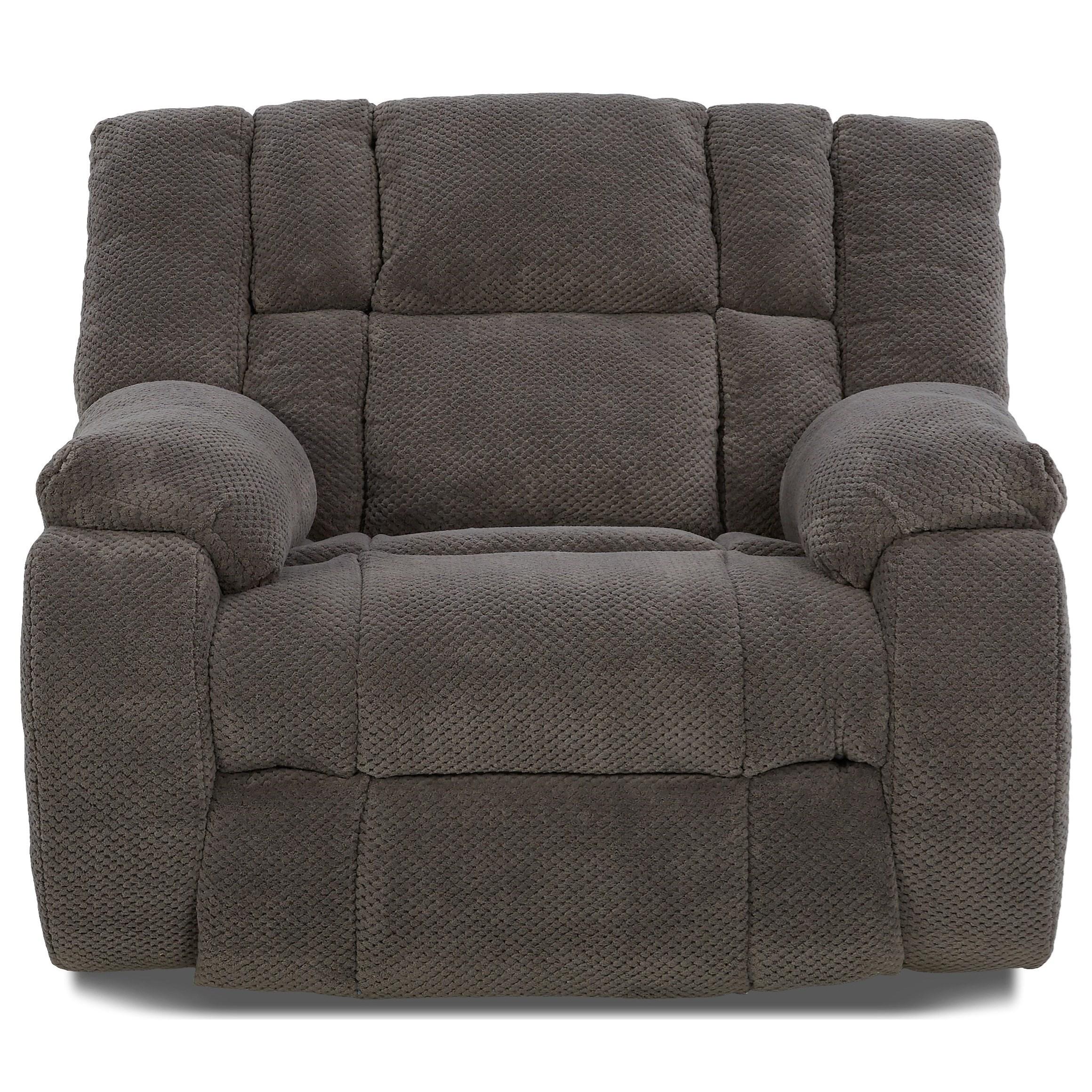 Klaussner Dozer Dozer Casual Reclining Chair Amp A Half