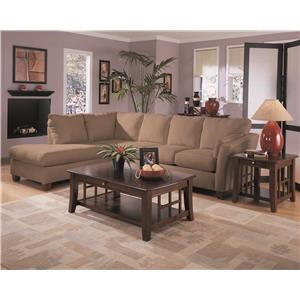 Klaussner Drew 2-Piece Sectional
