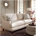 Elliston Place Duchess Transitional Nail head Wing Back Sofa with Blend Down Cushions
