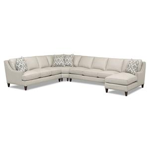 Klaussner Duchess Sectional with Chaise