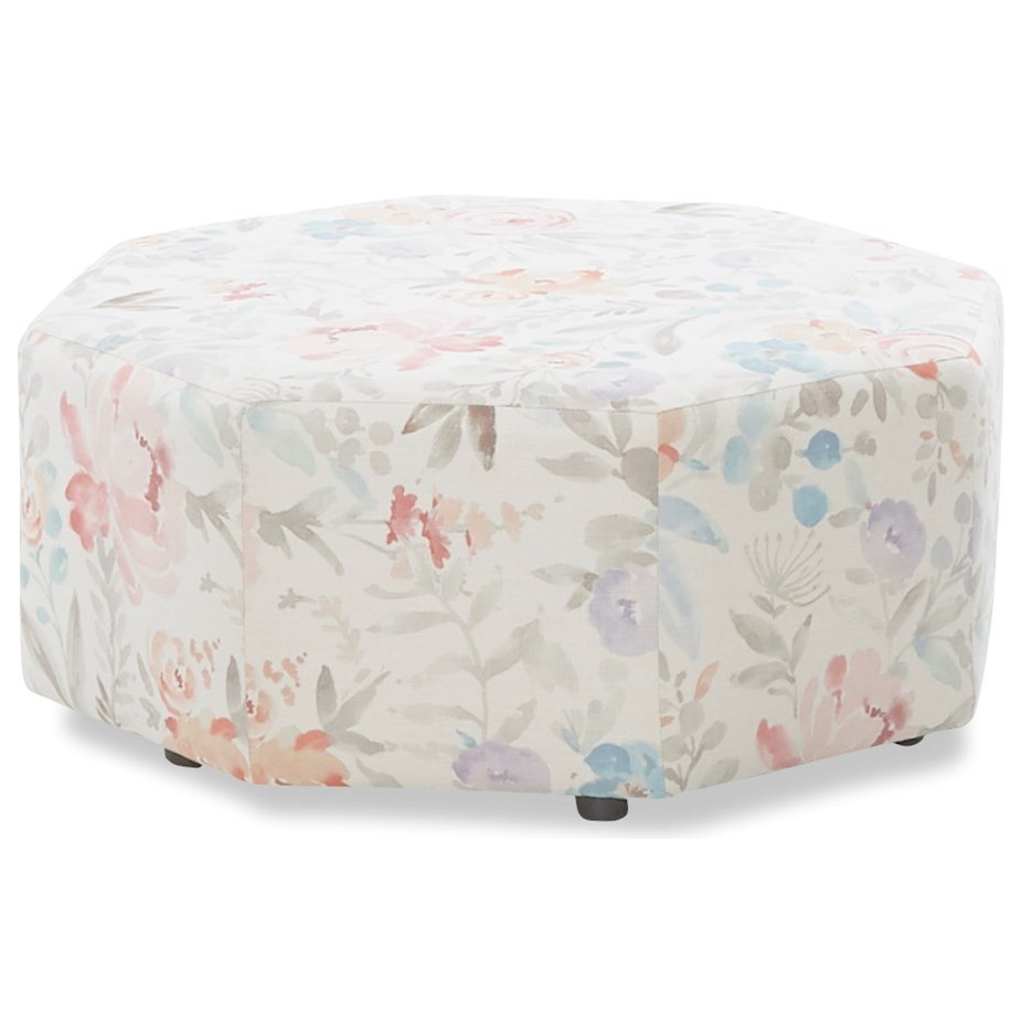 Eda Ottoman by Klaussner at Johnny Janosik