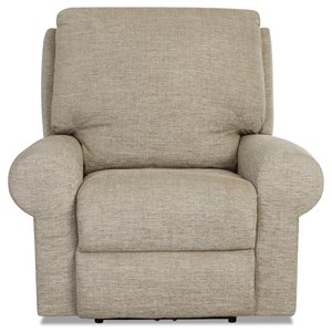Casual Tailored Power Recliner with Power Head/Lumbar and XMS Massage with Heat