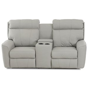 Klaussner Elara Power Reclining LS w/console & Pwr Headrests