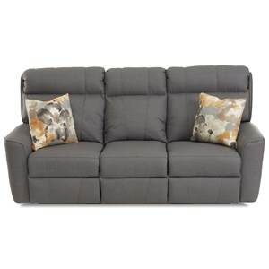 Power Reclining Sofa w/ Pillows & Pwr Head