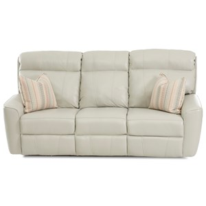 Pwr Reclining Sofa w/ Pillows & Pwr Head/Lum