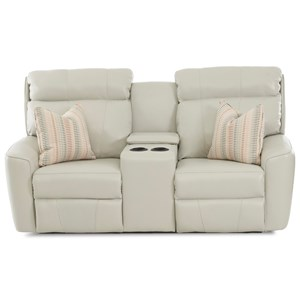 PwrRecl LS w/console w/ headrest w/ Pillows